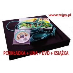 PROMOCYJNY ZESTAW KSIĄŻKA + LINA + PODKŁADKA + DVD