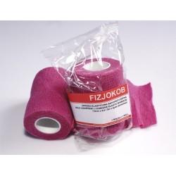 FIZJOKOB  Super bandaż elastyczny / podkład pod tejpy  RÓŻOWY