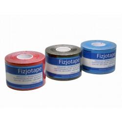 Kinesiology tape zestaw 3 szt.  czerwony, czarny, niebieski